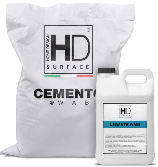 HD Surface Cemento Wabi + Legante